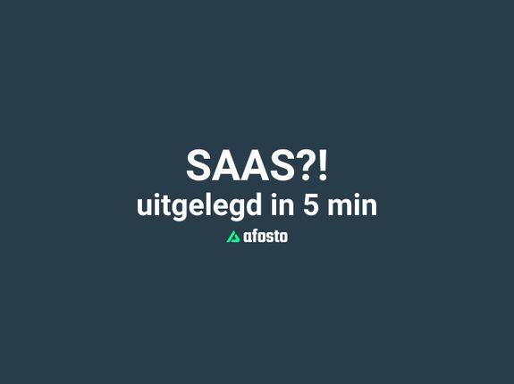 Wat is SaaS? Software as a Service uitgelegd