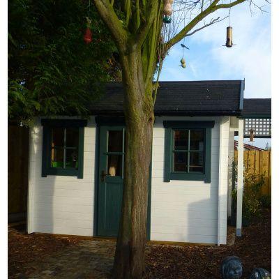 Bild 29 von Azalp Blockhaus Lis 350x350 cm, 30 mm