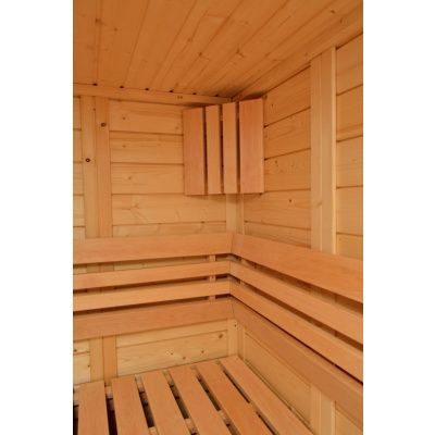 Bild 9 von Azalp Sauna Luja 180x180 cm, 45 mm