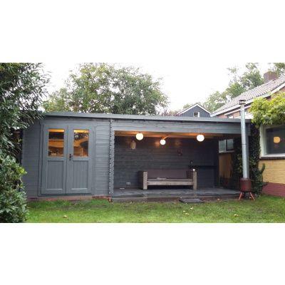 Bild 21 von Azalp Blockhaus Sanne 600x250 cm, 30 mm
