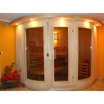 Afbeelding 5 van Azalp Sauna Runda 280x237 cm elzen