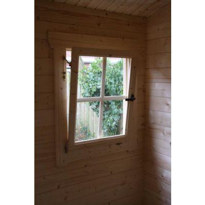 Bild 8 von Azalp Blockhaus Lis 400x400 cm, 30 mm