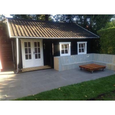 Afbeelding 60 van Azalp CLASSIC blokhut Cottage Style Cumberland 520x430 cm, 45 mm