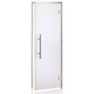Hoofdafbeelding van Hot Orange Stoombad deur Au Lux 80x200 cm, mat blank