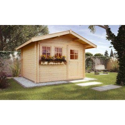 Hauptbild von Weka Gartenhaus 139A Gr. 3 mit Vordach 60cm