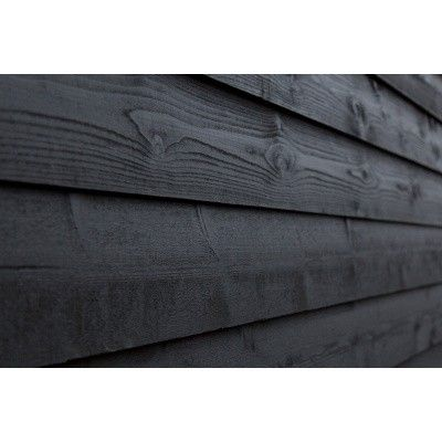 Afbeelding 2 van WoodAcademy Nefriet excellent Nero blokhut 680x300 cm