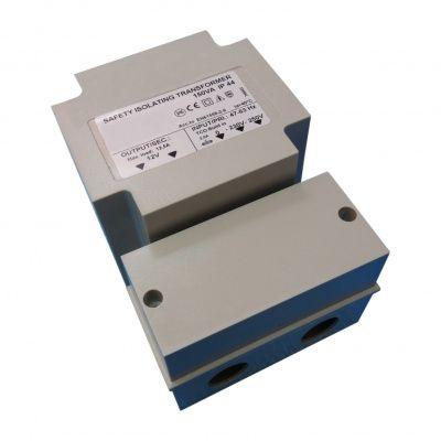 Hoofdafbeelding van Azalp veiligheidstransformator maximaal 150 watt - IP44