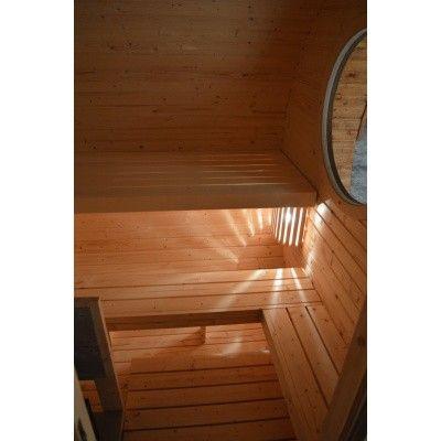 Afbeelding 6 van Azalp Barrel Ovaal 402x240 cm, twee kamers