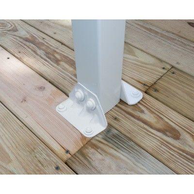 Afbeelding 4 van Palram Olympia patio cover 3X9.15 wit