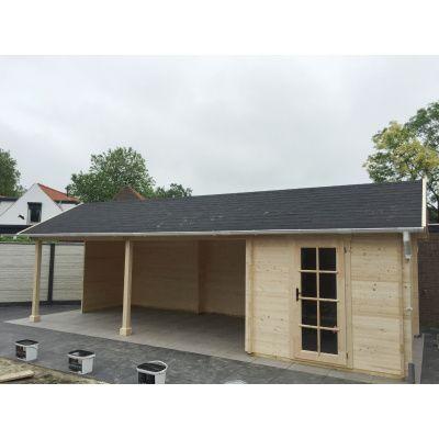 Bild 12 von Azalp Blockhaus Marnix 650x350 cm, 45 mm