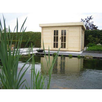 Bild 25 von Azalp Blockhaus Ingmar 500x300 cm, 45 mm