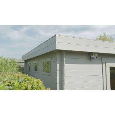 Bild 49 von Azalp Blockhaus Sven 450x450 cm, 30 mm