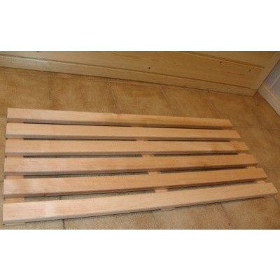 Afbeelding 2 van Azalp Sauna Vloerrooster Elzen, 60x40 cm O
