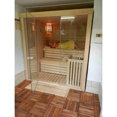 Afbeelding 38 van Azalp Sauna rugleuning Lumen, Elzen