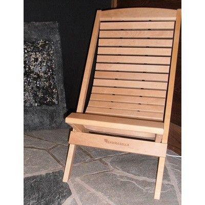 Bild 9 von Saunasella Saunastuhl Holz 60x77x93 cm