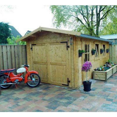 Afbeelding 9 van Azalp Garage Thijs 380x700 cm, 60 mm