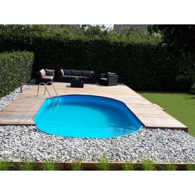 Afbeelding 5 van Trend Pool Tahiti 623 x 360 x 120 cm, liner 0,8 mm (starter set)