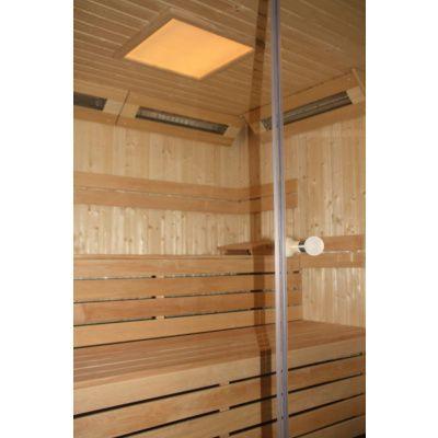 Afbeelding 29 van Azalp Sauna rugleuning Lumen, Elzen