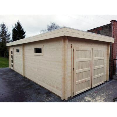 Afbeelding 19 van Azalp Garage Thijs 470x570 cm, 45 mm Modern