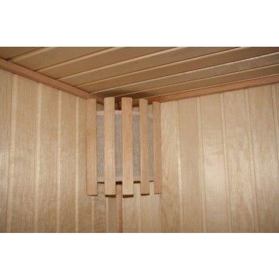 Bild 9 von Azalp Sauna Runda 220x203 cm, Espenholz