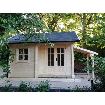 Afbeelding 46 van Azalp CLASSIC blokhut Cottage Style Cumberland 520x430 cm, 45 mm