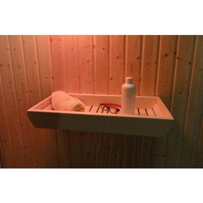 Afbeelding 4 van Liberty Wellness Sauna opberg / legplank 30 x 60 cm