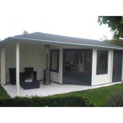 Bild 15 von Interflex Blockhaus 4355 Z, Seitendach 450 cm