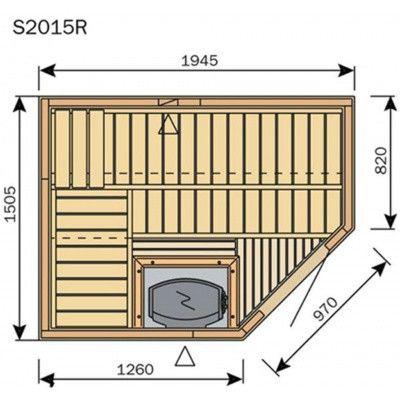 Afbeelding 8 van Harvia Sauna Variant Line S2015R
