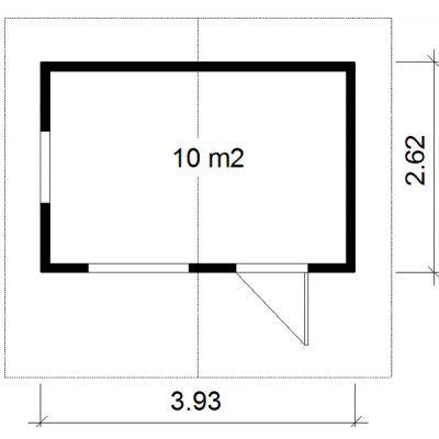 Bild 2 von Azalp Isoliertes Blockhäuser Wiking 1