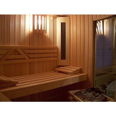 Afbeelding 4 van Azalp Sauna Runda 280x263 cm elzen