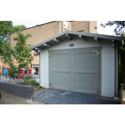 Afbeelding 54 van Azalp Garage Thijs 470x570 cm, 95 mm