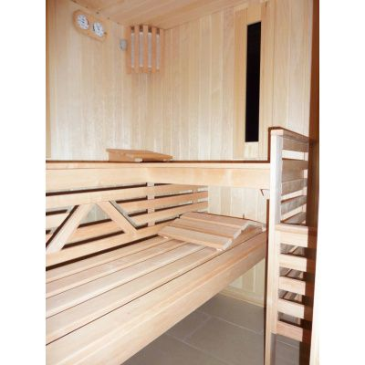 Afbeelding 25 van Azalp Saunabank recht, Elzen breedte 50 cm