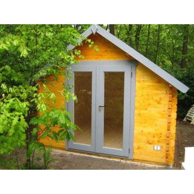 Bild 6 von Azalp Blockhaus Nisse 350x300 cm, 30 mm
