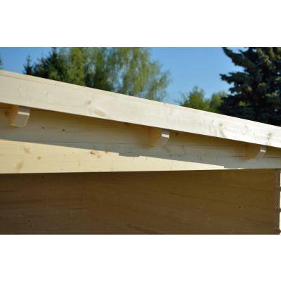 Bild 3 von Azalp Blockhaus Sanne 600x250 cm, 30 mm