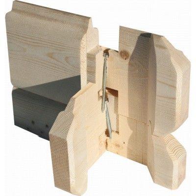 Afbeelding 8 van Woodfeeling Bastrup 8 met veranda 300 cm (78677)