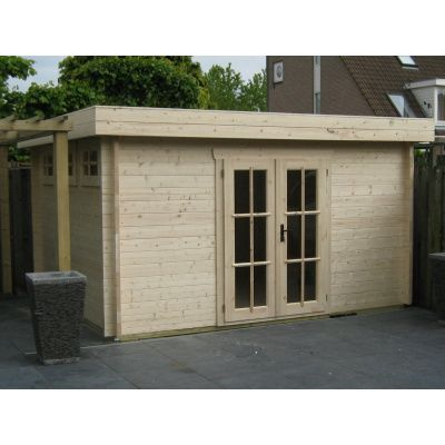Bild 52 von Azalp Blockhaus Ingmar 350x400 cm, 45 mm