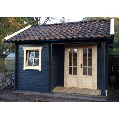 Afbeelding 30 van Azalp CLASSIC blokhut Cottage Style Kinross, 45 mm