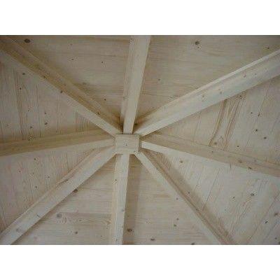 Afbeelding 27 van Interflex Blokhut 4355 Z, zijluifel 400 cm