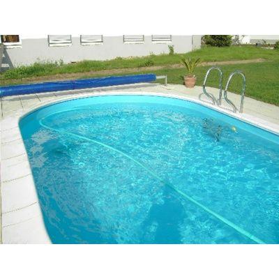 Afbeelding 15 van Trend Pool Boordstenen Tahiti 530 x 320 cm wit (complete set ovaal)