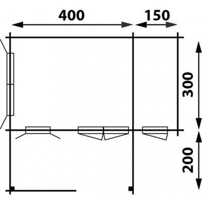 Afbeelding 2 van Interflex 4x3+2Z, geverfd