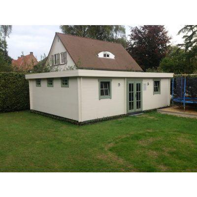 Bild 33 von Azalp Blockhaus Ingmar 596x550 cm, 45 mm