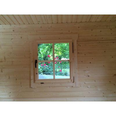 Bild 4 von Azalp Blockhaus Tim 450x450 cm, 30 mm