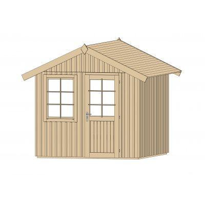 Afbeelding 3 van Weka Zweeds huis 410 Gr. 2