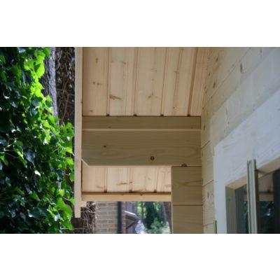 Bild 8 von Azalp Blockhaus Kent 350x400 cm, 30 mm