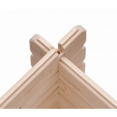 Afbeelding 6 van Woodfeeling Bastrup 1 met veranda 300 cm (91529)