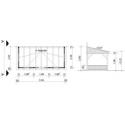 Afbeelding 34 van Azalp Houten veranda 550x250 cm