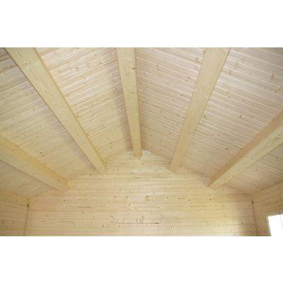 Bild 23 von Azalp Blockhaus Kinross 450x400 cm, 30 mm