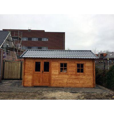 Bild 34 von Azalp Blockhaus Lynn 450x450 cm, 30 mm