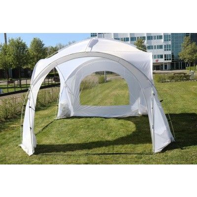 Afbeelding 5 van Orange Outdoor Iglo Dome tent 3.5x3.5m wit