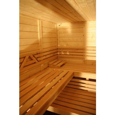 Afbeelding 9 van Azalp Massieve sauna Genio 240x180 cm, 45 mm